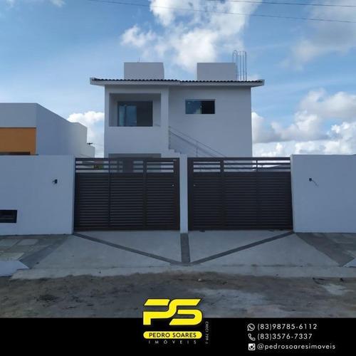 Casa Com 2 Dormitórios À Venda, 110 M² Por R$ 145.000 - Bairro Das Indústrias - João Pessoa/paraíba - Ca0796