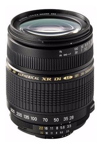 Lente Zoom Tamron 18-250mm F/3.5-f/6.3 Canon, Importada