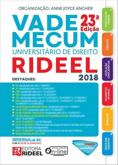 Vade Mecum Universitario De Direito - Rideel - 23 Ed
