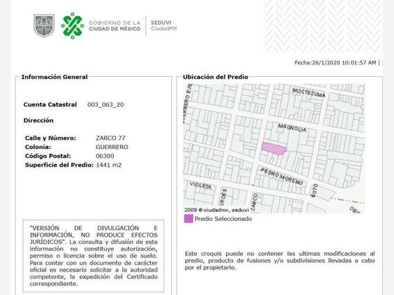 Venta De Remate Bancario Departamento En Col. Guerrero Mx20-iz0788