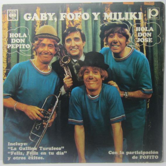 Gaby, Fofó Y Miliki, Hola Don Pepito, Hola Don José, Lp 1978