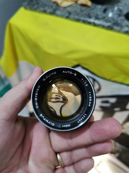 Lente F 1.2mm Olympus Zuiko+ Om1 Lindas E Limpas !