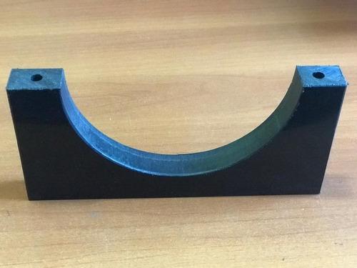 Imagem 1 de 6 de Kit C/ 10 Cambota Suporte Calço Para Tubulação Em Polipropileno 5 Pol