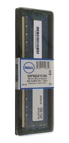 Memoria Ram 8 Gb Pc3-12800 Dell Certificada  Pc Snp66gkyc/8g