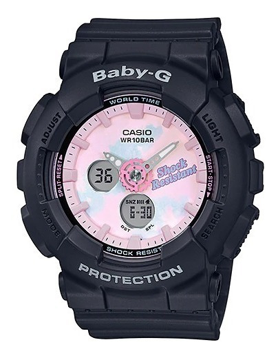 Reloj Casio Outlet Baby-g Life And Style Ba-120t-1acr