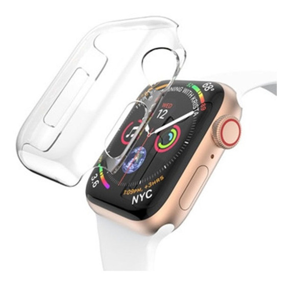 Capa Case Silicone Apple Watch Serie 4 44mm/ Iwo Proteção