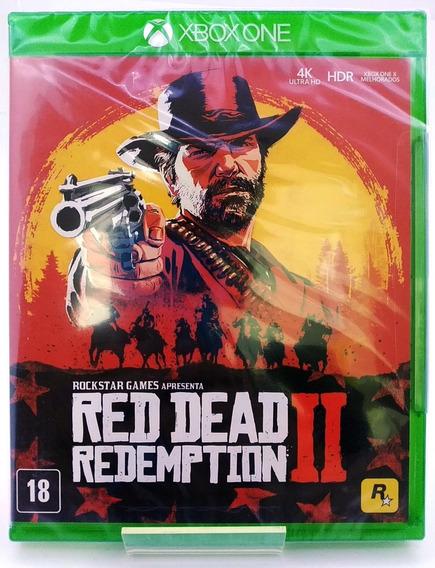 Red Dead Redemption 2 Xbox One Mídia Física Nacional Lacrado