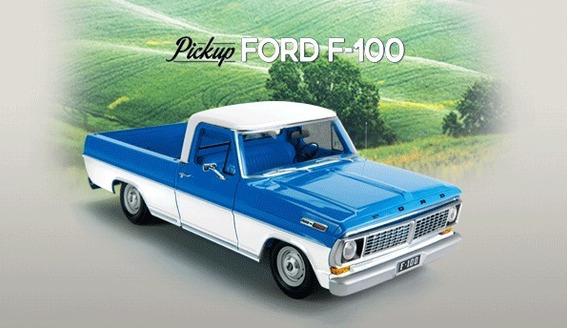 Ford F 100 Editorial Salvat Para Armar. Escala 1/8