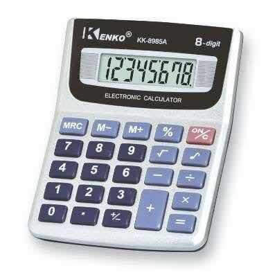 Calculadora Kenko Kk-8985a - 8 Digitos