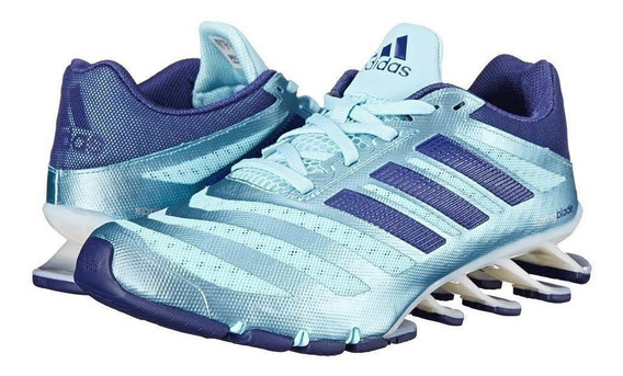 Tenis adidas Springblade Ignaite Azul Cielo Para Dama Full