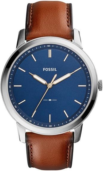 Relógio Fossil Masculino The Minimalist Fs5304/0an