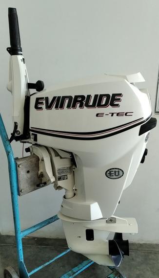 Motor Fuera De Borda Evinrude E-tec E25 Drs Mod.2011 -180hs