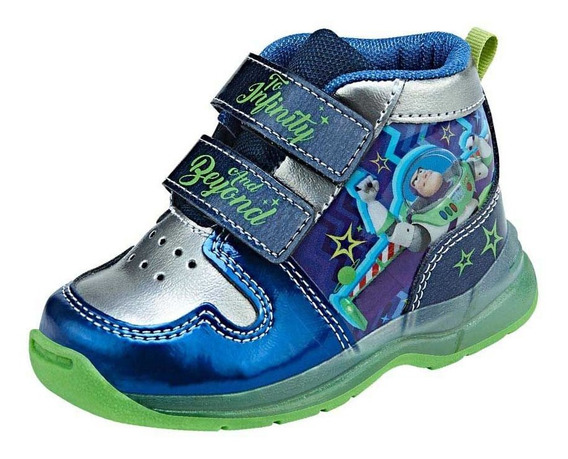 Tenis Toy Story Buzz Lightyear Originales Botita Luces Led
