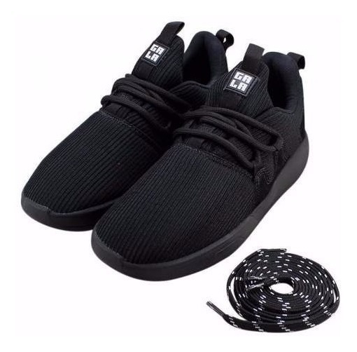 Tênis Hocks Skate Sneaker Galáctica Preto Black Original