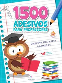 1500 Adesivos Para Professores - Incentive Seus Al