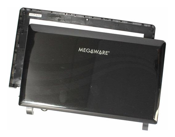 Carcaça Face A + B Megaware Meganetbook Classic Ii (11888)