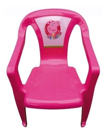 Silla Plastico 37x30x50cm Jardin Minnie Peppa Pig Babymovil