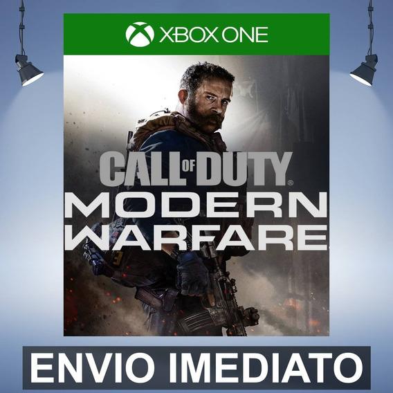 Call Of Duty Modern Warfare Lançamento Xbox One 25 Digitos
