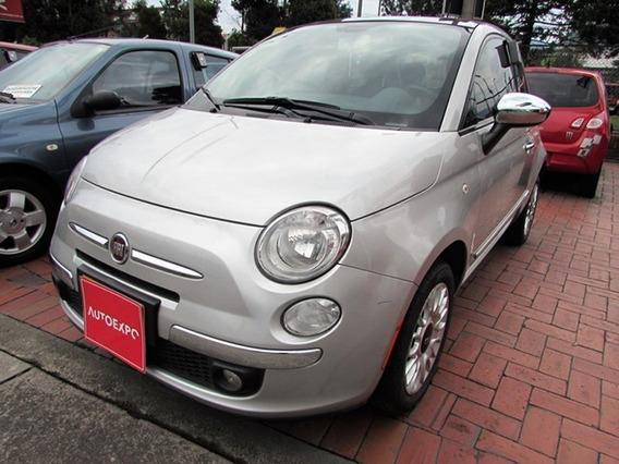 Fiat 500 Lounge Aut 1,4 Gasolina
