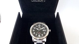 Reloj Orient Quartz Sp Water-resist Gran Diametro Casi Nuevo