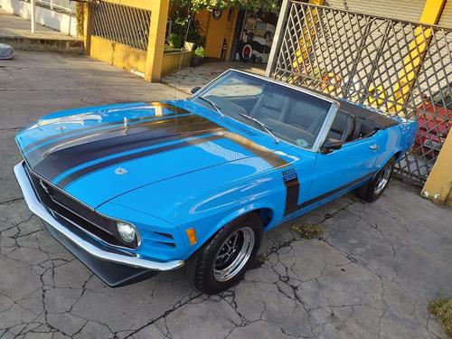 Mustang Conversível 1970, Placa Preta, Em Estado De Zero.