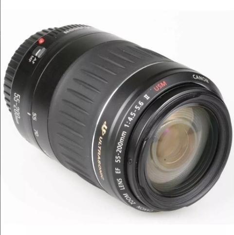 Objetiva Canon Ef 55-200mm