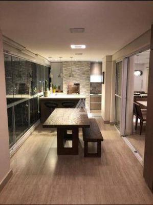 Apartamento Com 3 Dormitórios À Venda, 128 M² Por R$ 1.350.000 - Ipiranga - São Paulo/sp - Ap39366