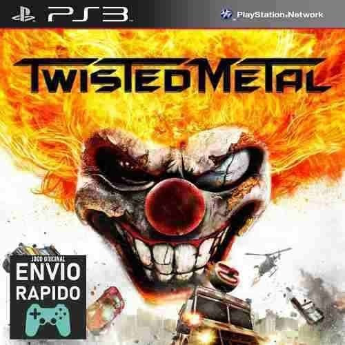 Twisted Metal - Jogos Ps3 Original