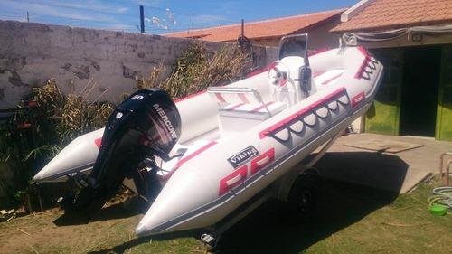 Viking De 4,9 M Con Motor 60 Hp 4 Tiempos Mercury Todo Okm
