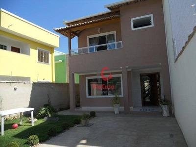 Casa Duplex, 3 Quartos, Sendo 1 Suíte, Enseada Das Gaivotas, Rio Das Ostras, Rj - Ca0636