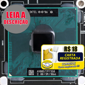 Processador Intel Core Duo P7350 Notebook Dell Acer Samsung