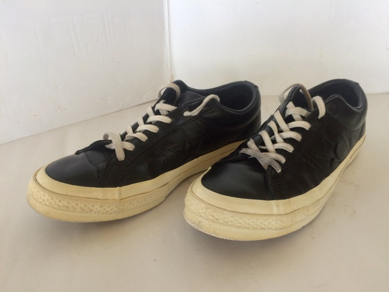 Zapatos Converse Original Cuero Unisex Usados T-40