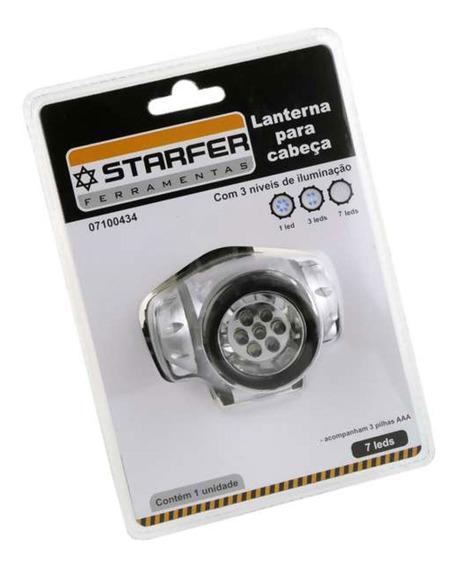Lanterna Para Cabeça Com 7 Leds Starfer