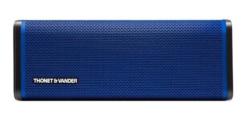 Parlante Thonet & Vander Frei portátil con bluetooth  blue
