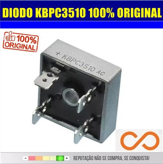 Diodo Ponte Retificadora Kbpc3510 35a 1000v Original