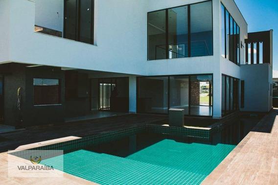 Casa Com 4 Dormitórios À Venda, 300 M² Por R$ 2.120.000 - Jardim Do Golfe - São José Dos Campos/sp - Ca0115