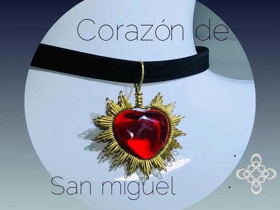 Choker Corazon De San Miguel .