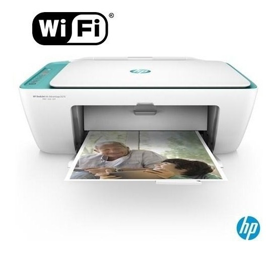 Impressora Wifi Scaner, Copia E Imprime Hp 2676 (3635)