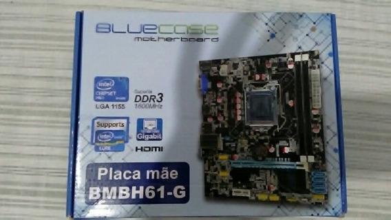 Placa Mãe Bluecase Bmbh61-g Socket Lga 1155 (não Liga)