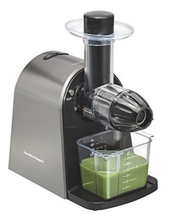 Hamilton Beach 67951 Masticating Juicer Slow Action Electric