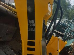Martillo Hidrahulico Marca Atlas Copco Modelo Mb1200