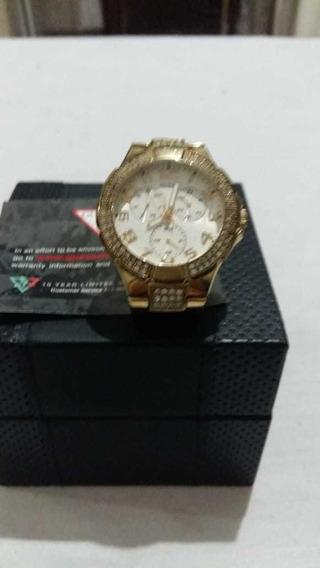 Relógio Guess Dourado L16540