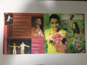 Cd Sandy & Junior As Quartos Estações Ao Vivo 2000