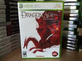 Jogo Dragon Age Origins Xbox 360 Original Mídia Física