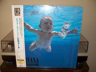 Nirvana Nevermind Lp Japonés 200 Gramos Edición Limitada!!