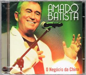 Amado Batista Cd O Negócio Da China Novo Frete R$ 11,00