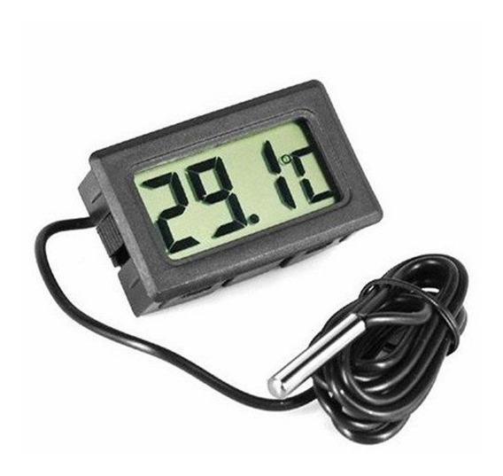 Termômetro Digital Lcd Display Aquário Chocadeira - 5 Peças