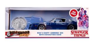 Vehículo Stranger Things Chevy Camaro Escala 1:24.