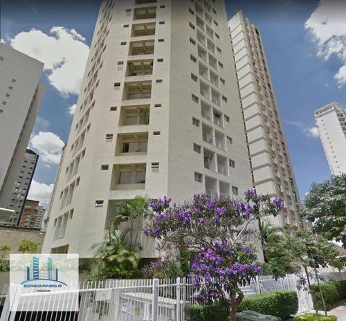 Imagem 1 de 6 de Apartamento Com 1 Dormitório Para Alugar, 40 M² Por R$ 1.800,00/ano - Moema - São Paulo/sp - Ap0430