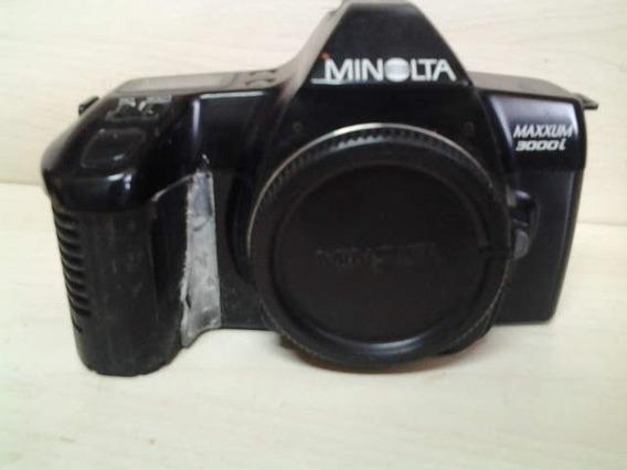 Antiga Máquina Fotográfica Minolta Maxxum 3000 I